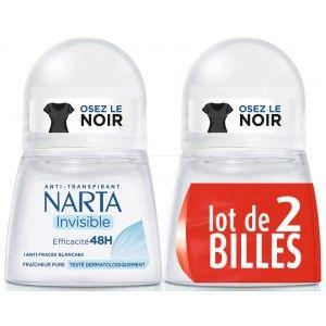Déodorant bille Narta Anti-transpirant Invisible 48h (Via 2.79€ sur Carte Fidélité)