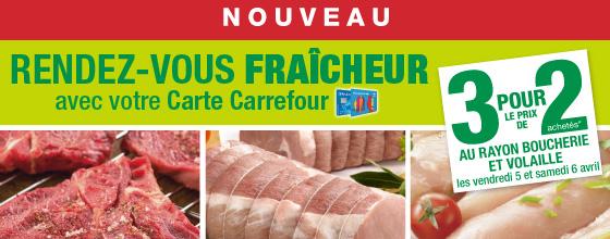 Rayon Boucherie et Volaille - 3 Pour le prix de 2 /