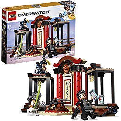 Jeu de construction Lego Overwatch : Hanzo contre Genji (75971)