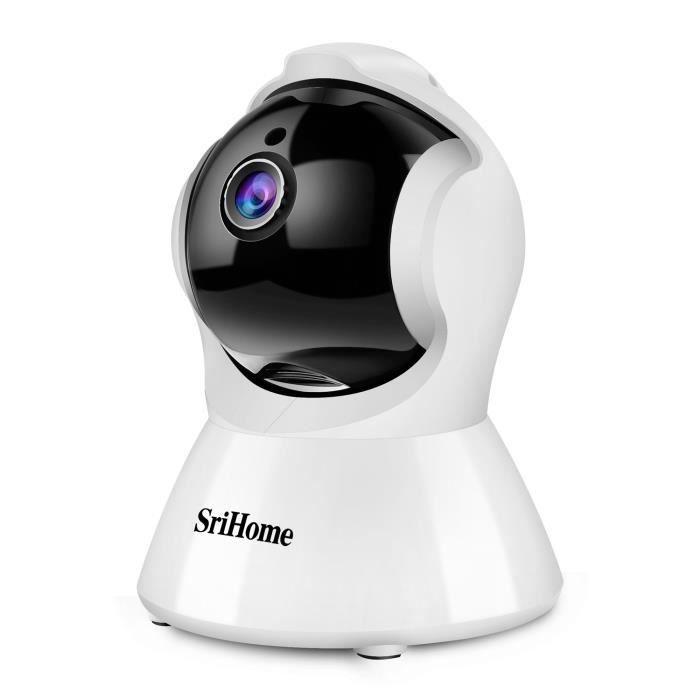 Caméra de Surveillance WiFi Srihome SH025 - IP, 1080P, Détection de Mouvement, Audio Bidirectionnel (Vendeur Tiers)