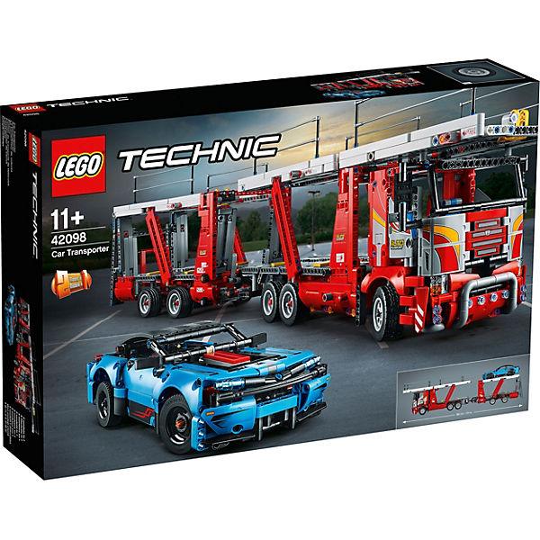 Jeu de construction Lego Technic : Le transporteur de voitures n°42098