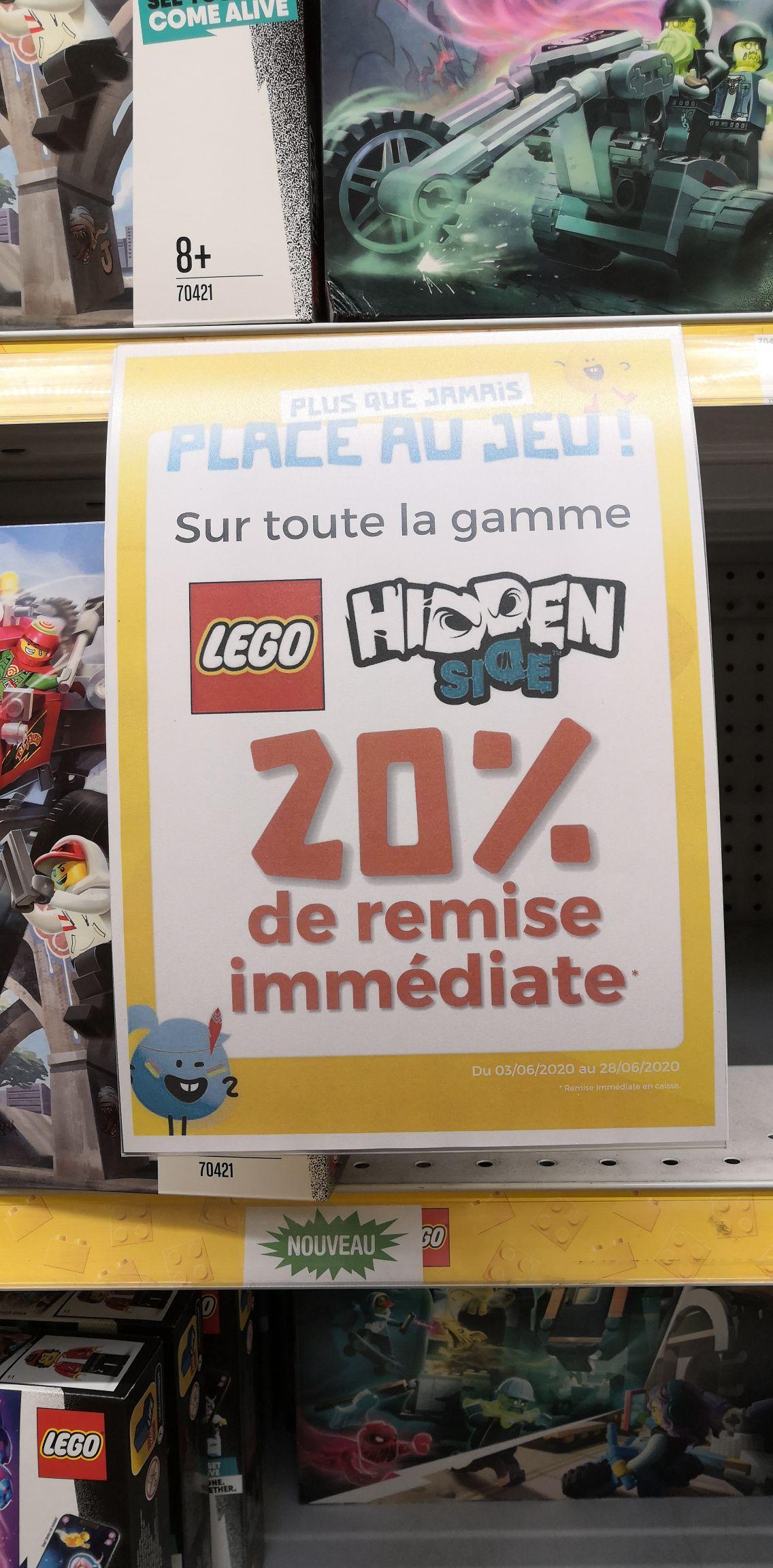 20% de réduction sur la gamme Lego Hidden side - PicWicToys national (édité ^^)