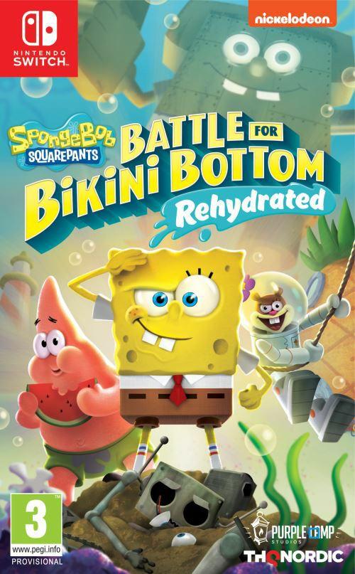 SpongeBob SquarePants: Battle for Bikini Bottom - Rehydrated sur PS4 et Nintendo Switch