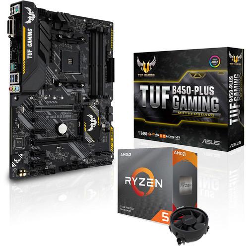 Kit Evo Processeur Ryzen 5 3600 + Carte mère Asus TUF B450 Plus Gaming + Horizon Zero Dawn Complete Edition