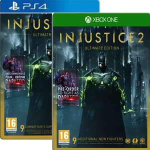 Injustice 2 Ultimate Edition sur PS4 & Xbox One