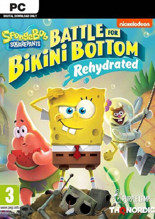 Jeu Bob l'Eponge : Bataille pour Bikini Bottom : Réhydraté sur PC (Dématérialisé, Steam)