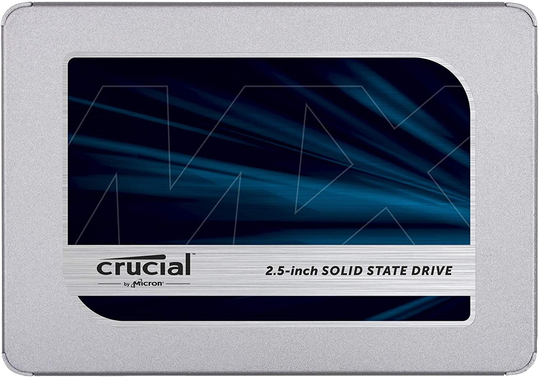 """SSD Interne 2.5"""" Crucial MX500 - 500Go à 57.99€ & 1To à 98.32€ (Via Coupon)"""