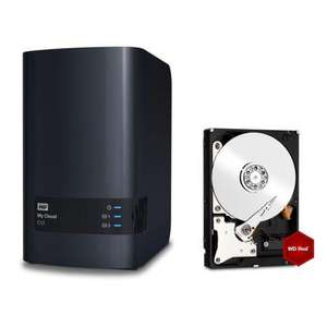 NAS Western Digital My Cloud EX2 (2 Baies) + Disque Dur WD Red 1To