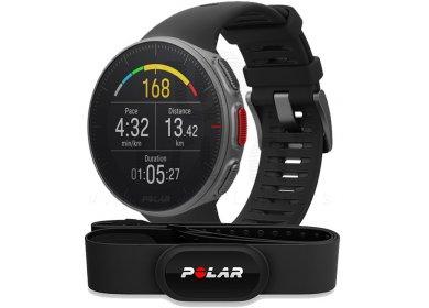 Montre de sport GPS Polar Vantage V HR (Noir) + Ceinture capteur H10 (Frontaliers Suisse)