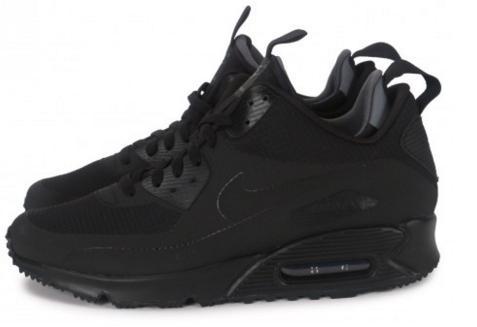 Chaussures Nike air max mid 90 winter - Black