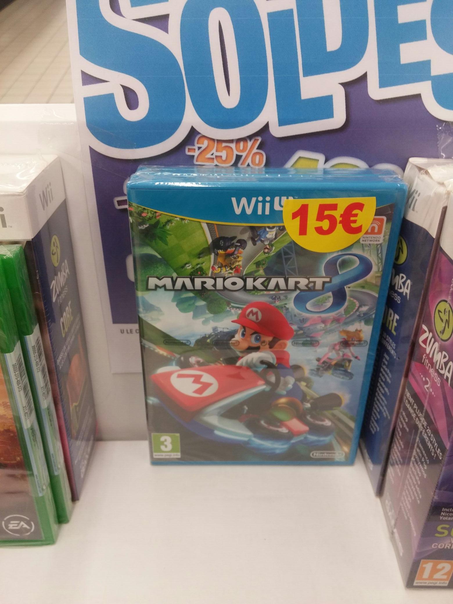 Sélection de jeux en promotion - Ex : Mario Kart 8 sur Wii U