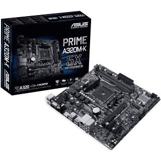 Carte Mère ITX Asus PRIME A320i-K/CSM - Socket AM4, A320