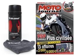 Abonnement d'un an à Moto Journal + Boîte de vulcanet offerte
