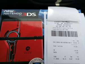 Console Nintendo New 3DS - Pack Xenoblade Chronicles