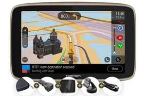 "GPS auto 6"" TomTom Go Premium X - avec accessoires"