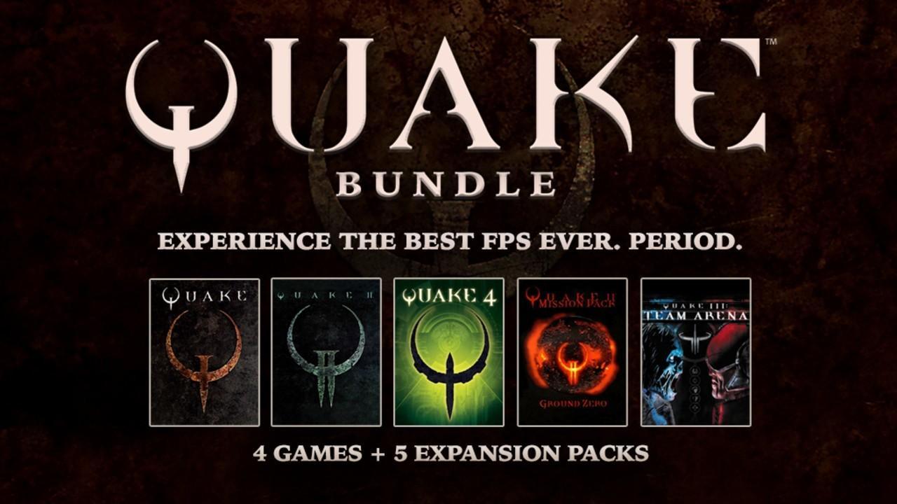 Bundle Quake sur PC - 4 jeux + 5 extensions