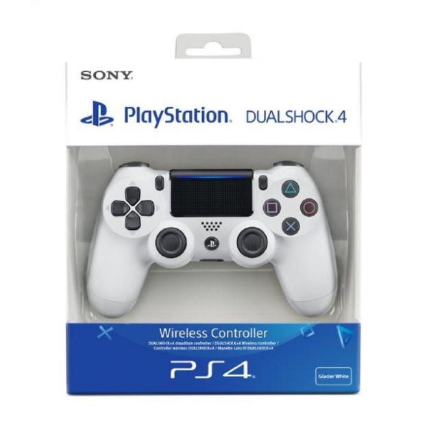 Manette Sony DualShock 4 pour PS4 (Rouge ou Blanc)
