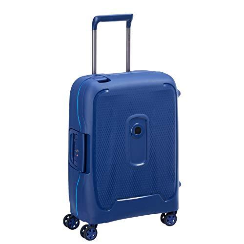 Valise Delsey Paris Moncey - 55 cm, 41L, Bleu