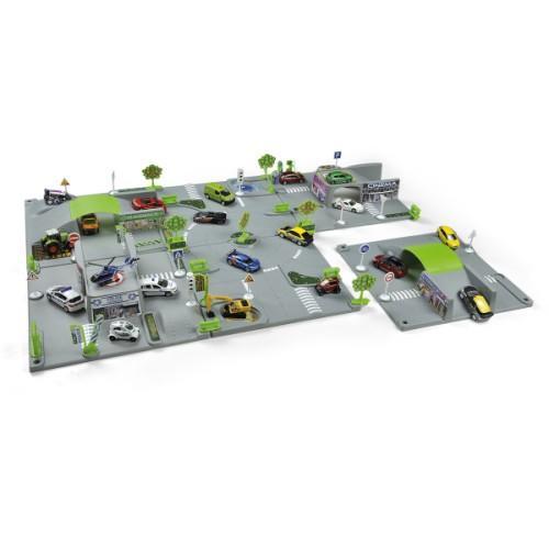 Circuit modulable 3D Norev version 6 plaques et 1 voiture