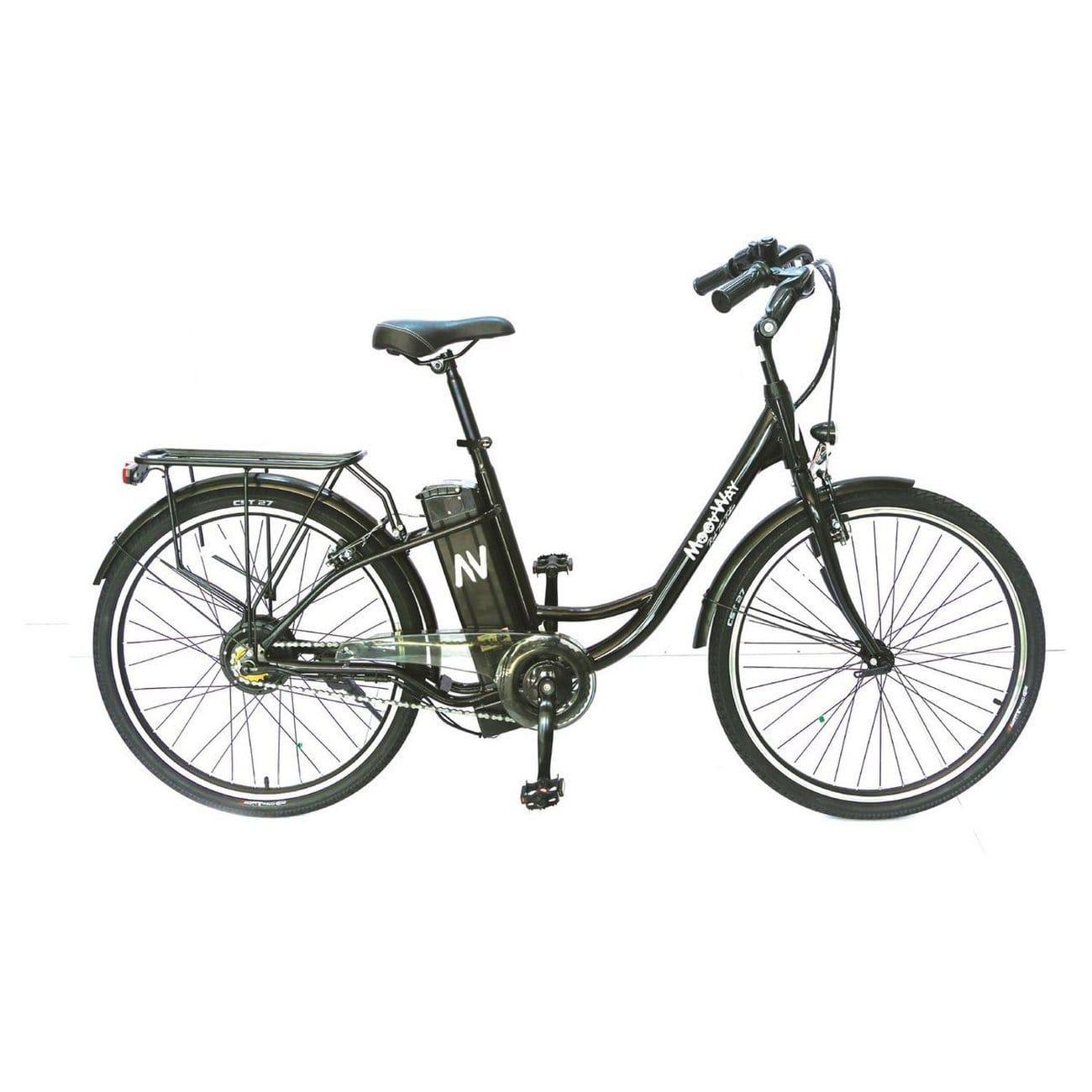 Vélo à assistance électrique Moovway Solar - Noir (Vendeur tiers)