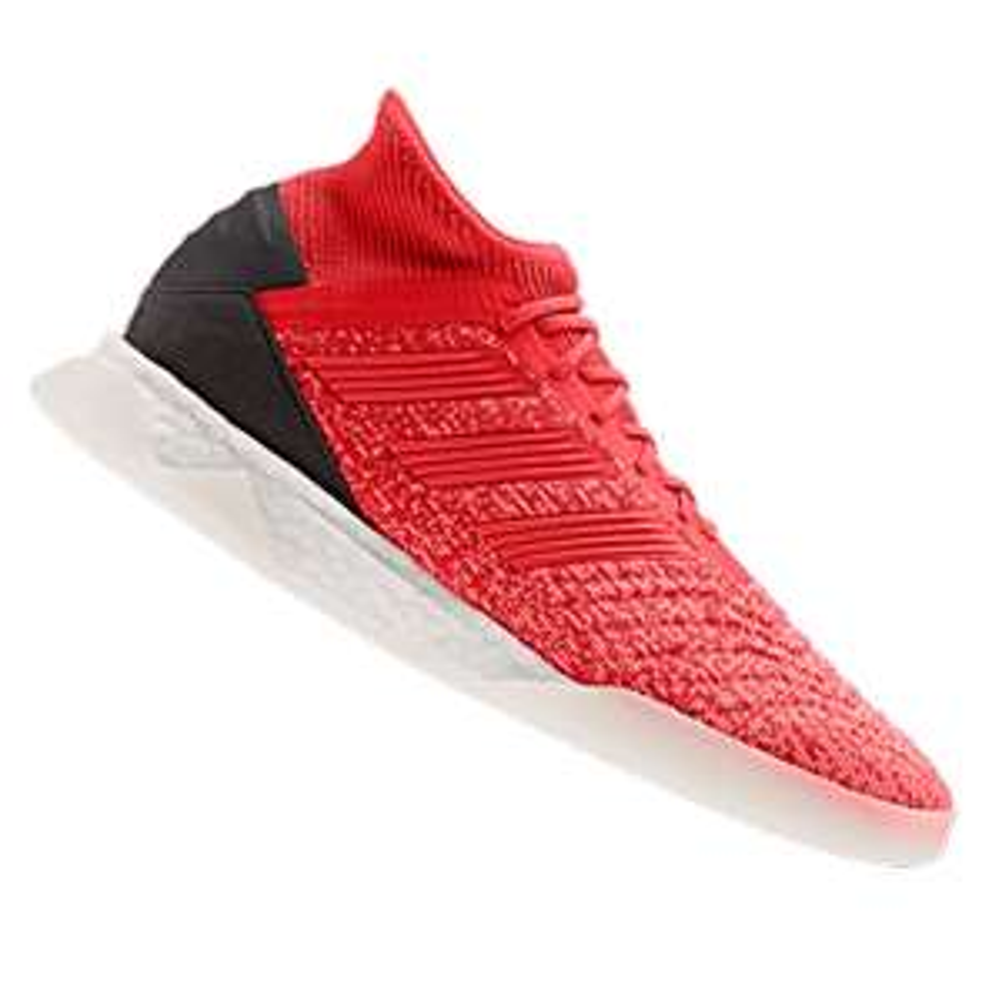 Chaussure de football Adidas Predator 19.1 TR - Rouge/gris