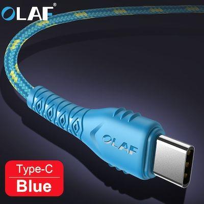 Sélection de produits Olaf en promotion - Ex: câble USB > USB type-C 2.4A - en nylon tressé, 50 cm, différents coloris (vendeur tiers)
