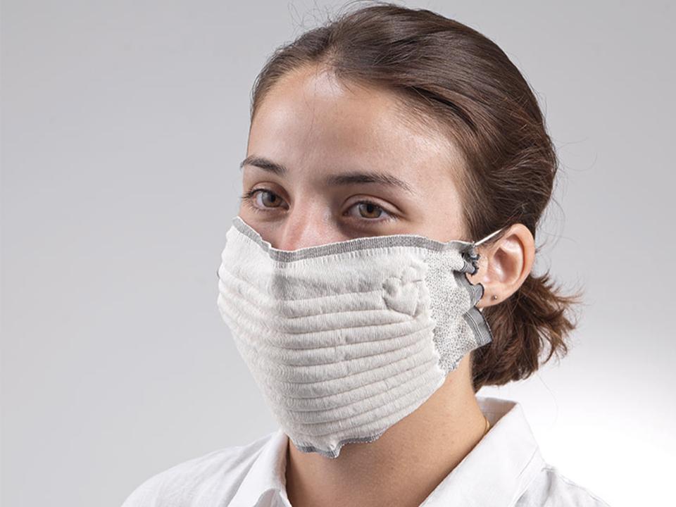 [Adhérents Macif] Masque en tissu réutilisable Dream Act - Attestation Cat.1 DGA (30 Lavages)