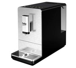 Machine à café expresso automatique avec broyeur Beko CEG5301X + 1 kg de café et 2 verres Expresso