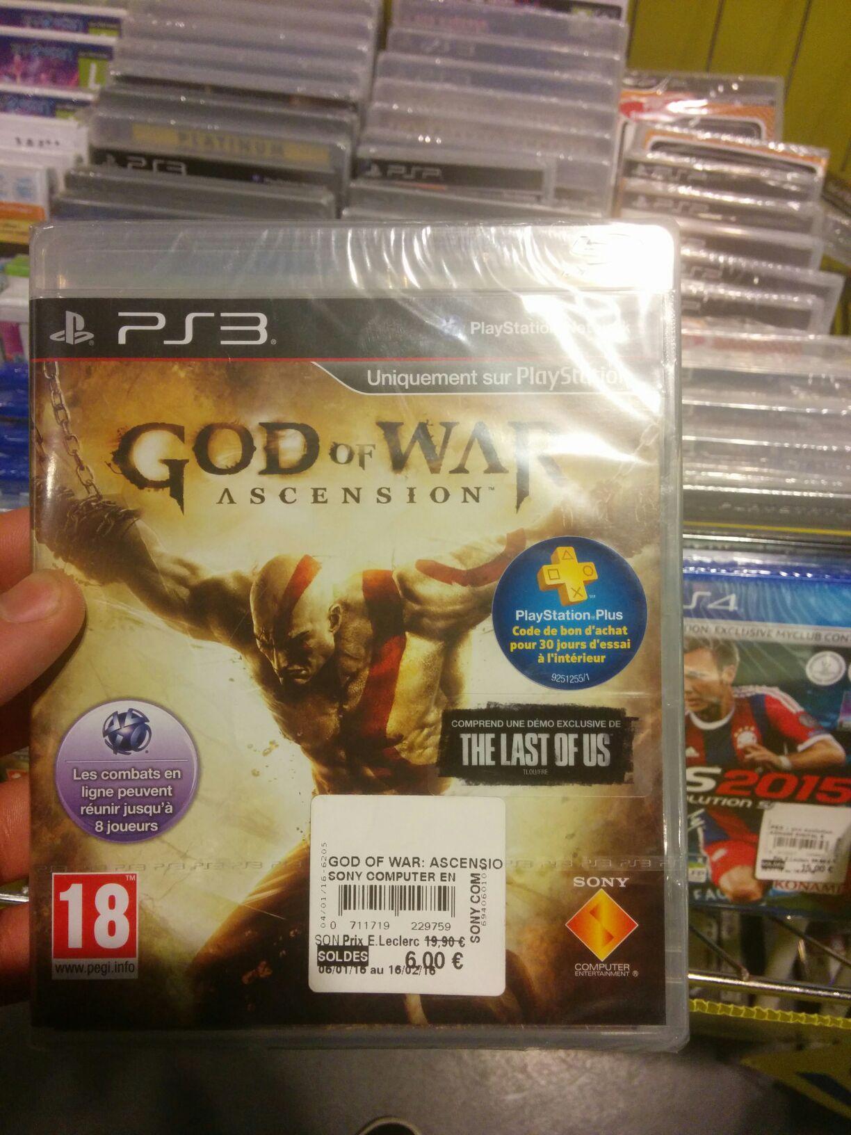 God of war Ascension PS3 + 30j PS+