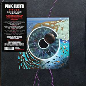 Coffret Vinyles Pink Floyd Pulse Deluxe Edition - 4 LP + Livre (52 Pages)