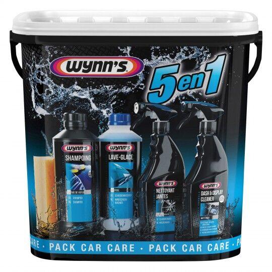 Pack nettoyant automobile Wynn's 5 en 1