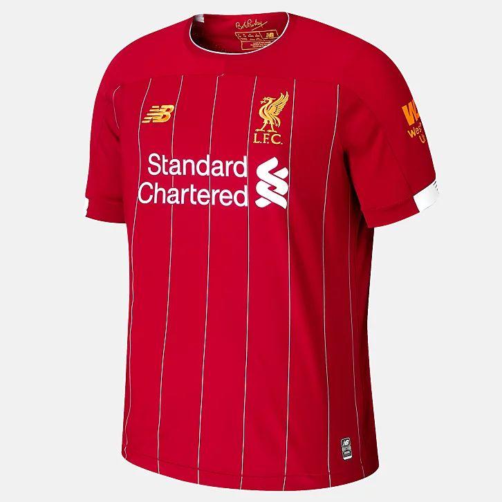 Maillot Football New Balance Liverpool FC 2019/2020 - Domicile