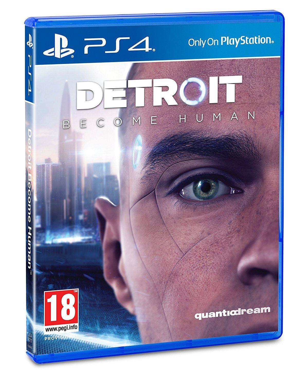 Detroit : Become Human sur PS4 (+ 0.79€ en SuperPoints) - Jeu FR / Boite ES