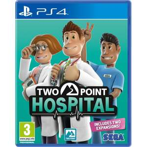 Two Point Hospital sur PS4