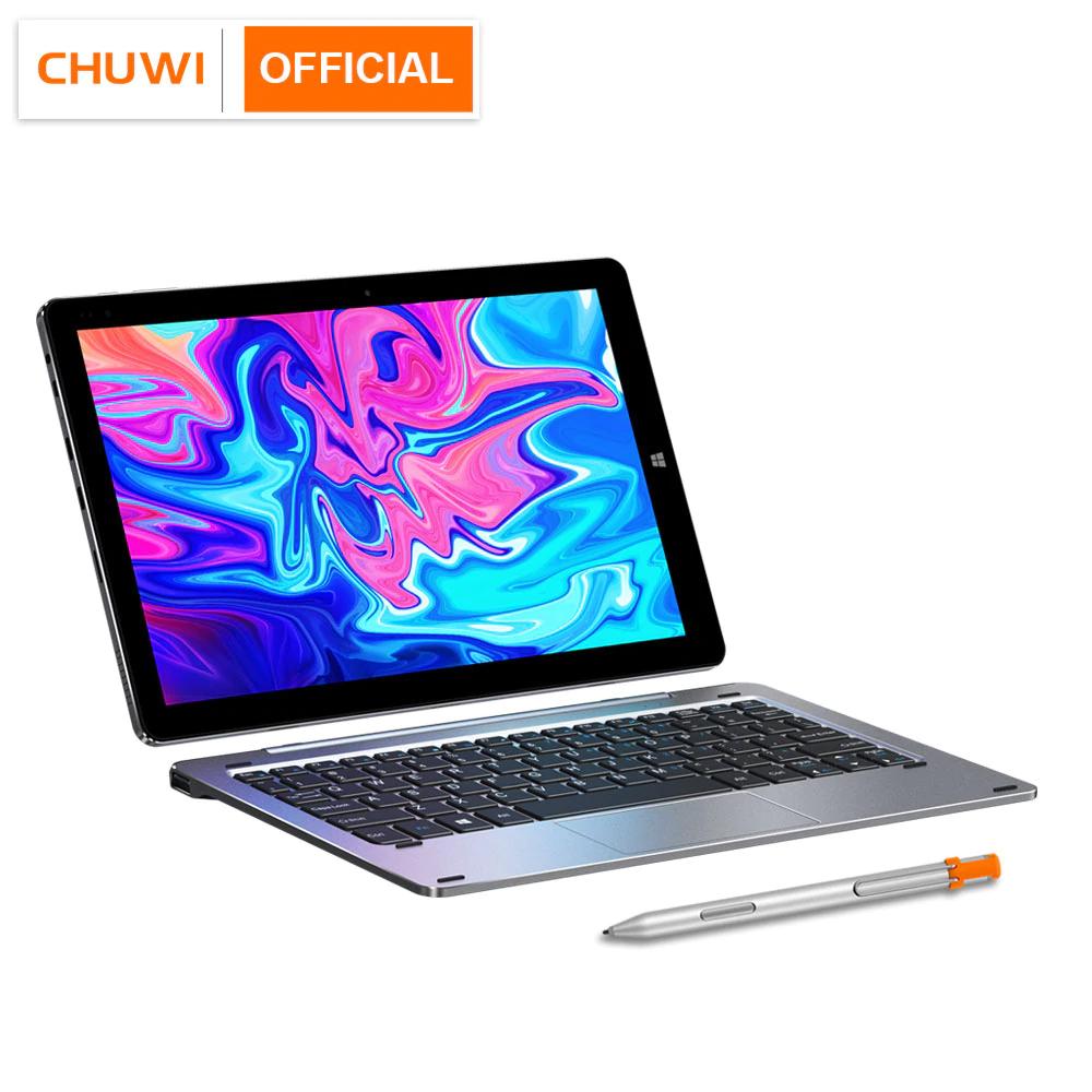 """PC Hybride 10.1"""" Chuwi Hi 10X - 1900 x 1200, Celeron N4100, 6 Go RAM, 128 Go eMMC, Windows 10, Silver"""