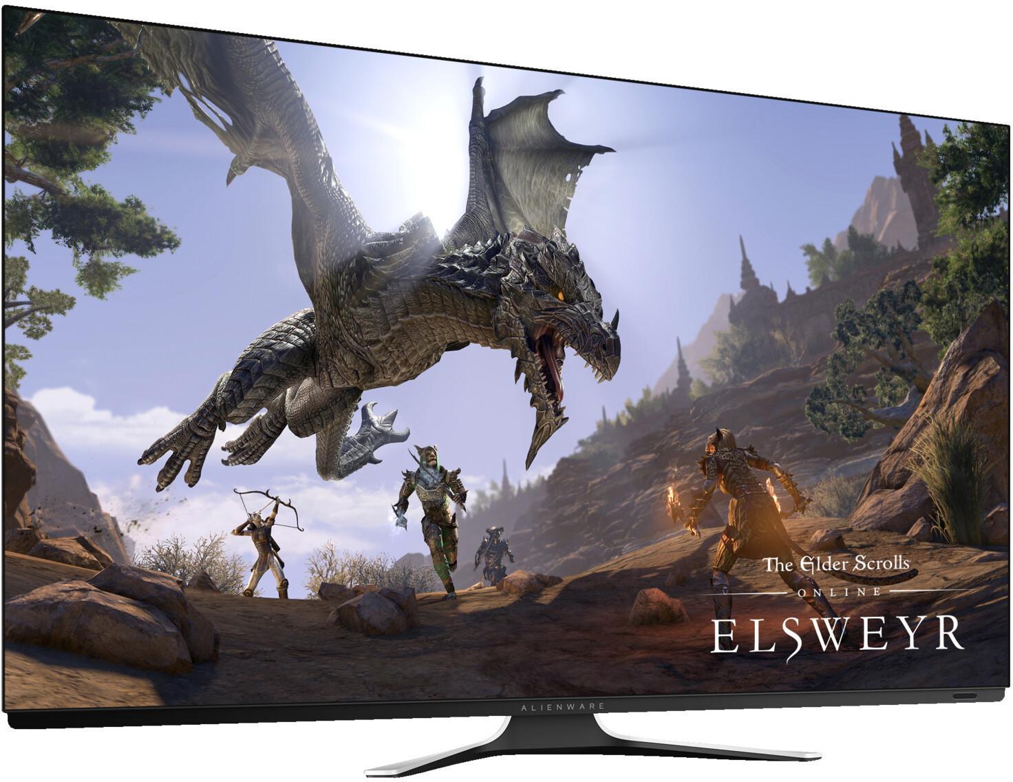 "Écran PC 55"" Dell Alienware AW5520QF - 4K UHD, OLED, 120 Hz, 1 ms, FreeSync"