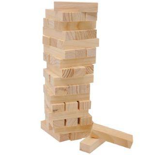 Tour d'équilibre en bois (equivalent jenga)