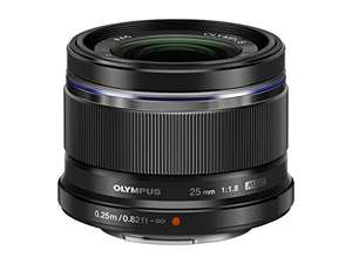 Objectif à focal fixe Olympus M.Zuiko 25mm f1.8 (eq: 50mm) - Monture Micro 4/3