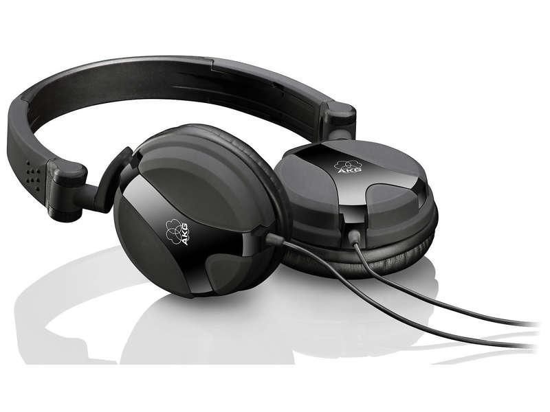 Casque Hifi AKG K518BLK avec Contrôle du Volume/Microphone