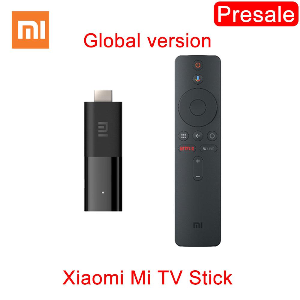 Stick Android TV Xiaomi Mi Stick TV (Global) - FullHD, 1Go RAM, 8 Go de ROM, Dolby Audio et DTS