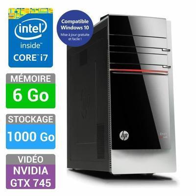 PC Gamer HP Envy 700-590nf - i7-4790 - 6 Go de ram - GTX 745 4Go