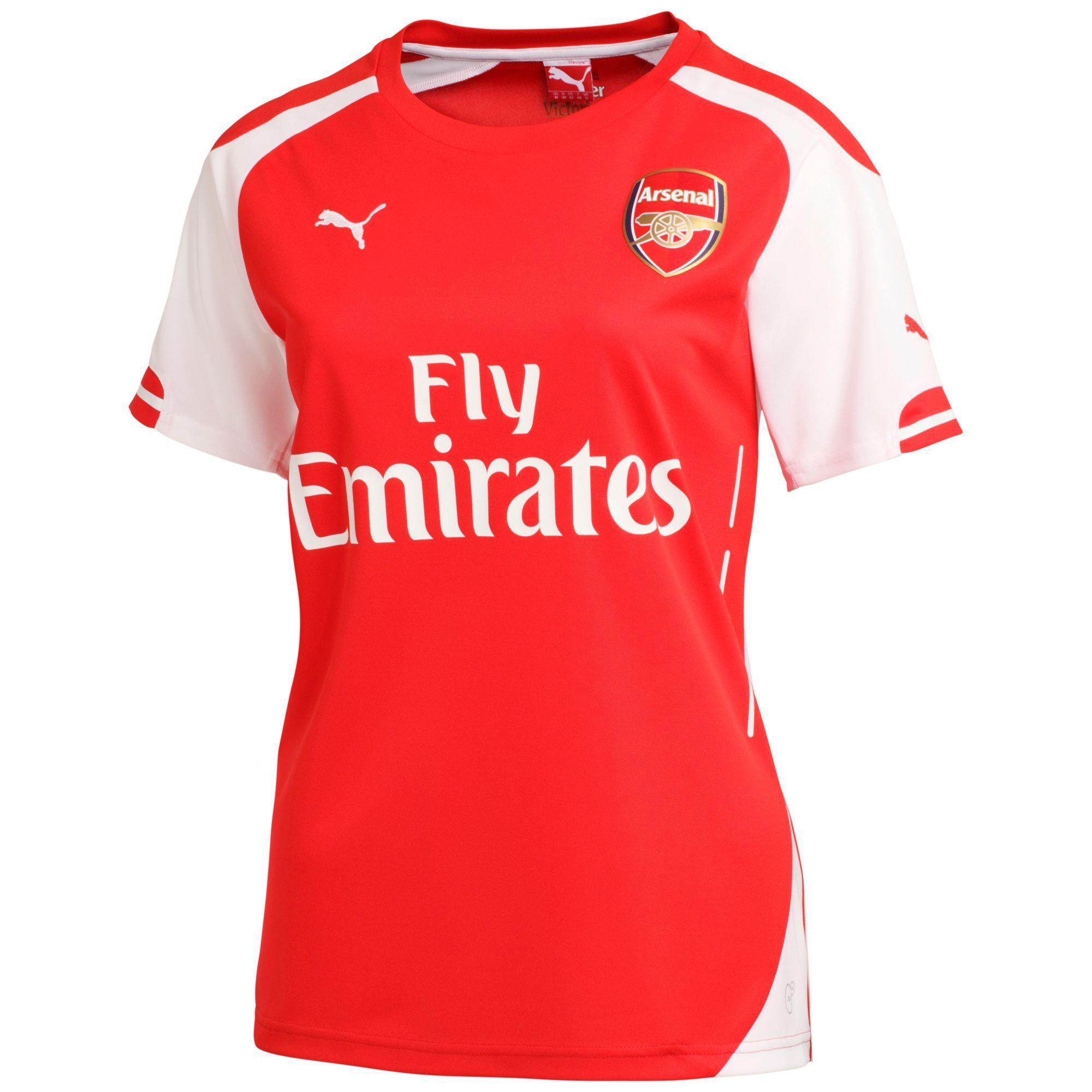 Maillot de foot Domicile Replica Arsenal FC - Femme