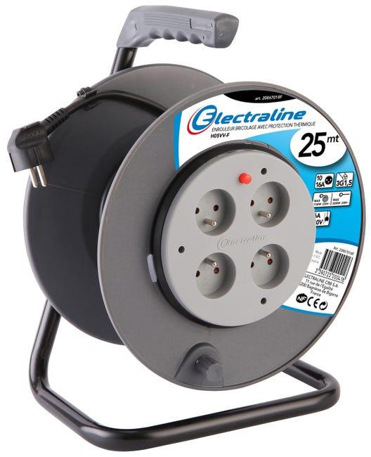 Enrouleur de Câble Electrique Electraline ho5vvf - 25m (Résultats de recherche Résultats Web La Rochelle 17)