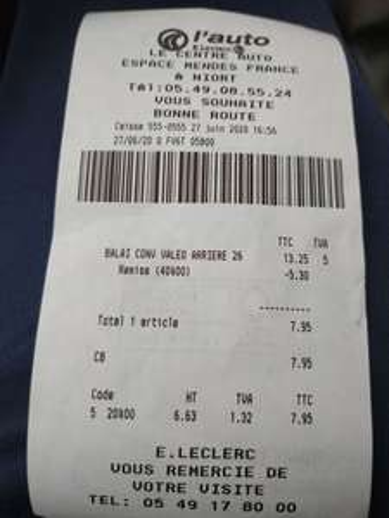 40% de réduction immédiate sur tous les essuies-glaces Valeo en magasin - Niort (79)