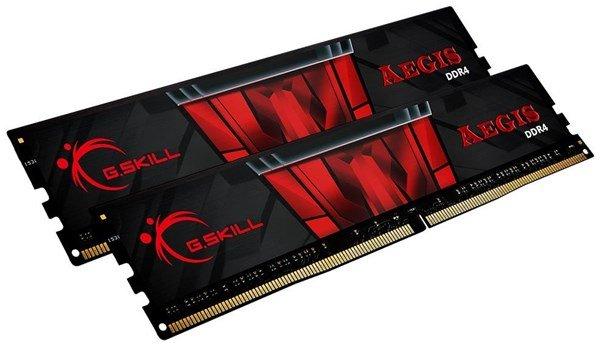 Kit mémoire RAM G.Skill Aegis (F4-3200C16D-32GIS) - 32 Go (2 x 16 Go), DDR4, 3200 MHz, CL 16 (computeruniverse.net)