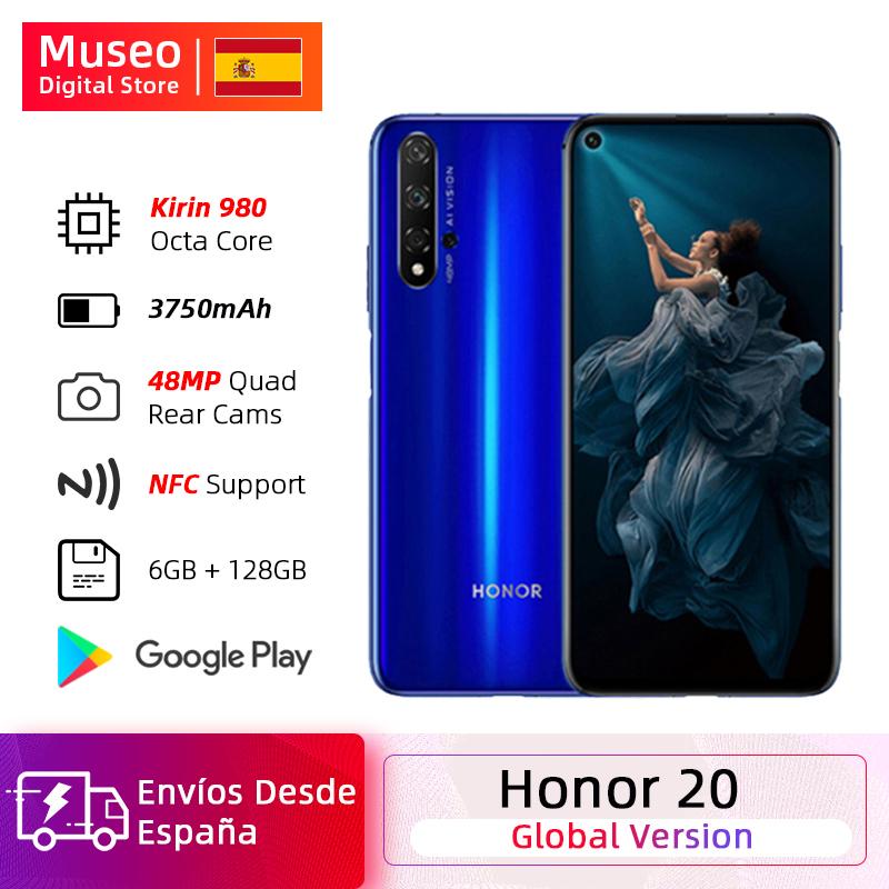 """Smartphone 6.26"""" Honor 20 Kirin 980 - 6 Go de Ram, 128 Go (241.25€ avec le code rouun)"""