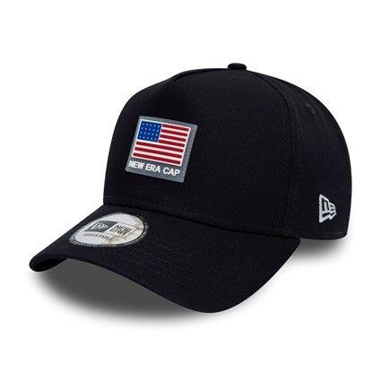 70% de réduction sur une sélection de casquettes New Era - Ex: Modèle 9Forty Rubber Patch Navy