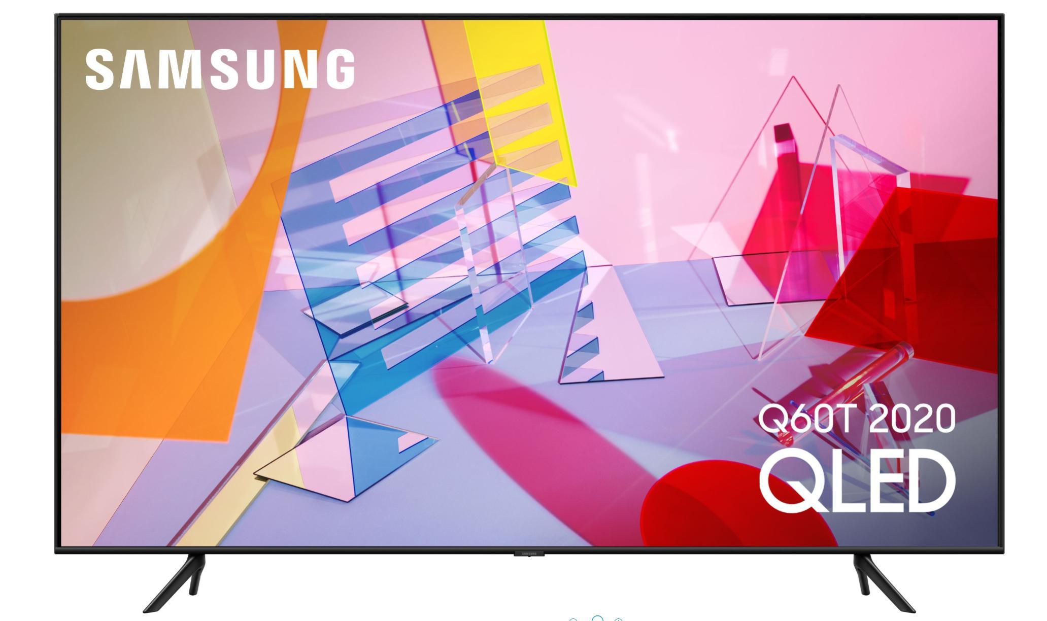 "TV 65"" Samsung QE65Q60T (2020) - QLED, 100 Hz, 4K UHD, HDR 10+, 3100 PQI, Smart TV"