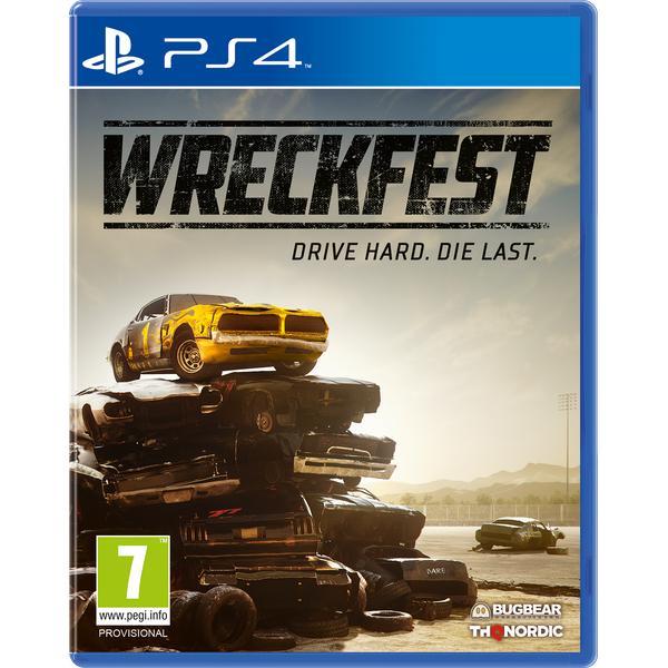 Wreckfest sur PS4