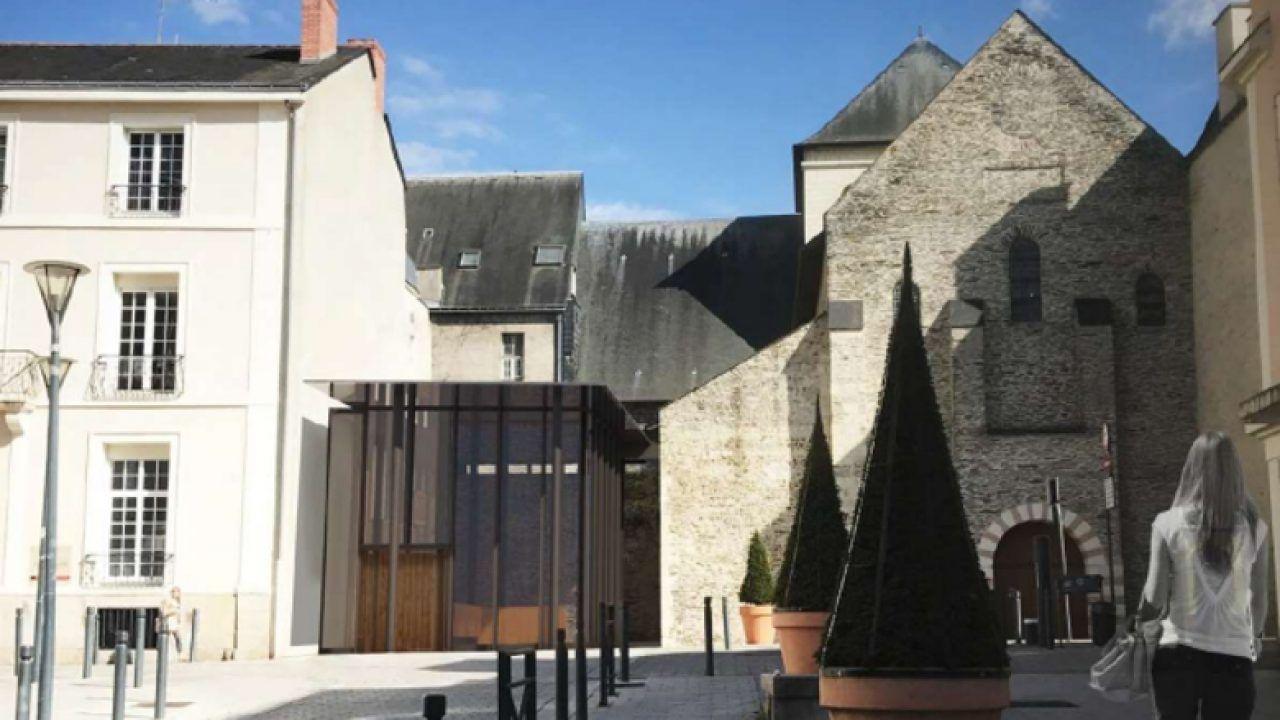 Visite de la collégiale Saint Martin d'Angers (49)